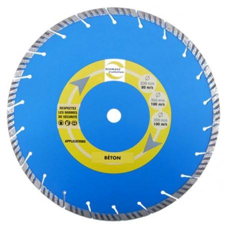 Disque pour maçonnerie/béton CD-2340 Top Turbo