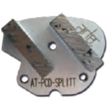Segment pour revêtement épais AT-PCD-SPLITT