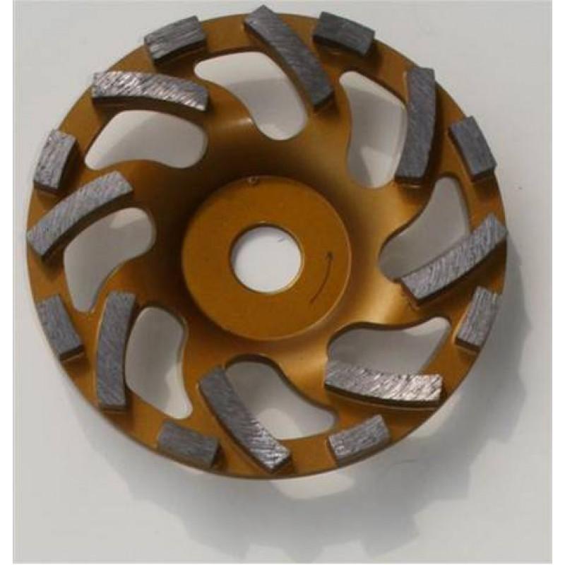 plateau diamant hstd 180 sp 180 mm pour meuleuse pour poncage de b ton pierre sec. Black Bedroom Furniture Sets. Home Design Ideas