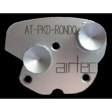 Segment pour revêtement épais AT-PCD-RONDO