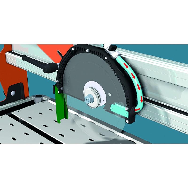 Scie sur table dyn cut coupe de carrelage brique moteur for Machine pour carrelage