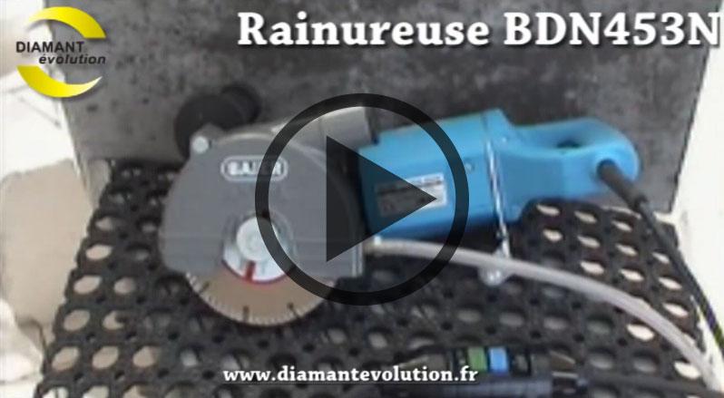 Rainureuse BDN453N à eau