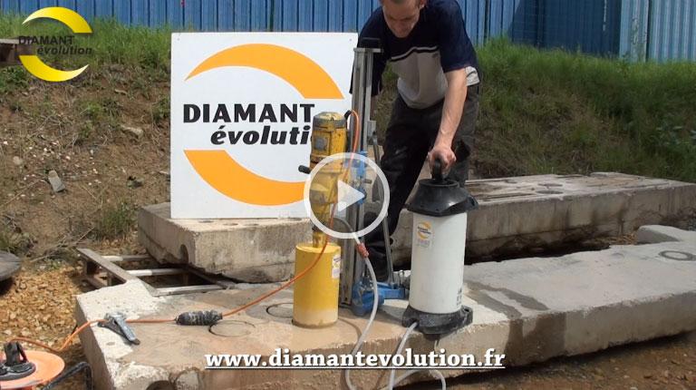 Carotteuse PRO200 - à eau pour le béton armé