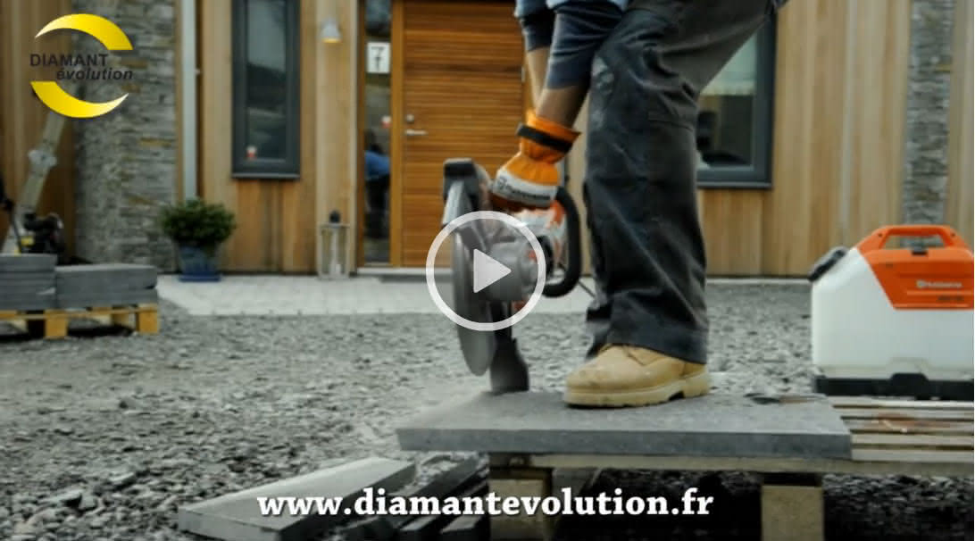 Decoupeuse beton K3000 WET