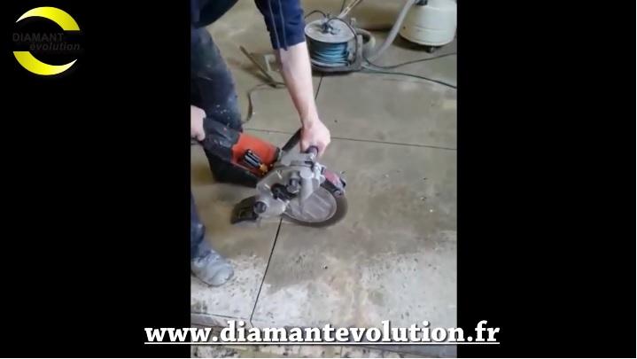 Decoupeuse electrique SC220 - decoupe dalle beton